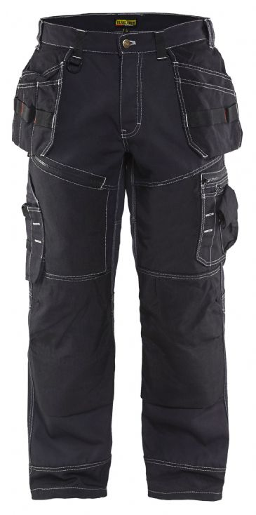 Blaklader X1500 1380 Polyester/Cotton Craftsmen Trousers X1500 (Black)
